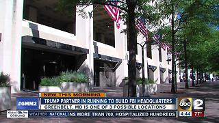 Trump partner in running for new FBI building - Video