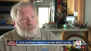 Local economist talks impact of senate tax bill - Video