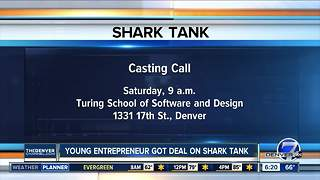 Young entrepreneur got deal on Shark Tank - Video