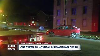 Police investigating two different overnight crashes - Video