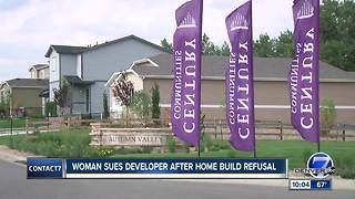 Colorado woman claims developer refused to build wheelchair-accessible home - Video