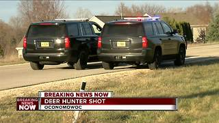 Deer hunter shot in Oconomowoc - Video