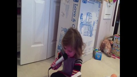 Toddler has Hot Takes on Christmas Day