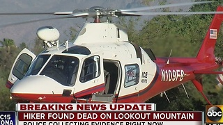 Hiker body recovered on Lookout Mountain - Video