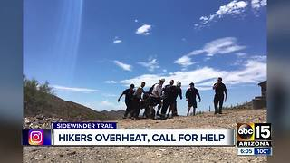 Five mountain rescues across Valley on Saturday - Video