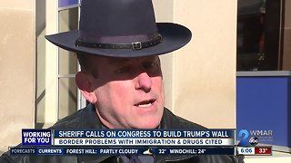 Sheriff calls on congress to build Trump's wall