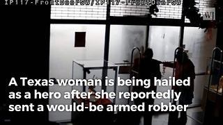 Video:A Texas Grandma Stopped A Would-be Jewelry Store Robber With Her Bare Hands - Video