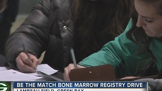 Be the match marrow registry held - Video