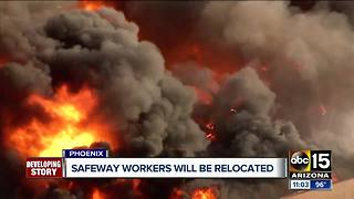 FD: More details in Phoenix Safeway fire - Video