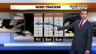 13 First Alert Weather for January 18 2018 - Video