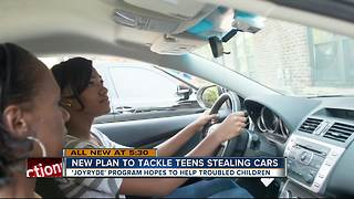New 'JoyRyde' program aims to combat teens stealing cars - Video