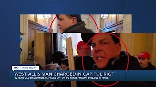 West Allis man charged in U.S Capitol riot