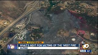 Assistance center to open for West Fire victims - Video