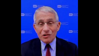 "Fauci Admits Travel Restrictions Based on ""Judgement Calls,"" Not Science"