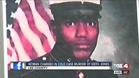 Woman charges in cold cade murder of Keith Jones