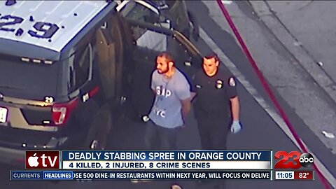A night of terror in southern California
