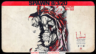 Drawing Spawn without picking up pen | Art, comic-book inspiration | Aug 3, 2020