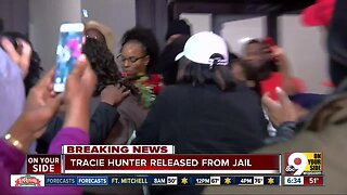 Tracie Hunter released from jail