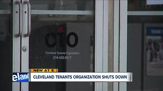 Cleveland Tenants Organization closes, board cites lack of financial support - Video
