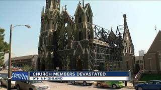 Trinity Lutheran Church suffers $17 million in fire damage - Video