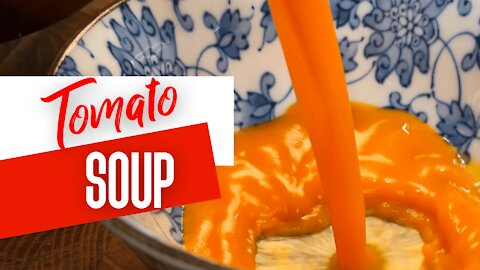 Roasted Tomato Soup To Warm Your Heart