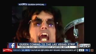 Queen coming to Las Vegas - Video
