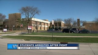 Three students arrested following pepper spray incident at Cudahy Middle School - Video