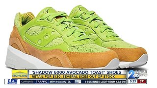 Avocado toast shoes selling for $130
