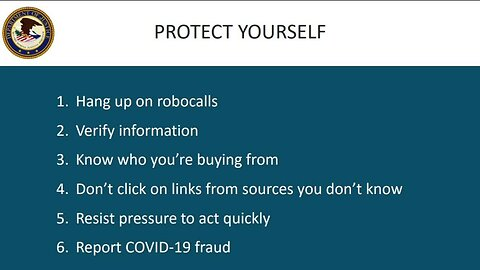 U.S. Attorney in Milwaukee Warns of COVID-19 Scams