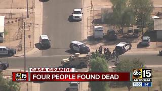 Four people found dead in Casa Grande - Video