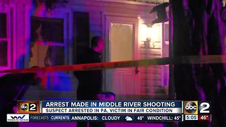 Arrest made after shooting at Middle River home - Video