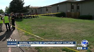 Red Cross provides shelter after roof collapse impacts 56 in Lakewood - Video
