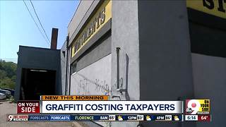 You're paying thousands every year to remove graffiti - Video