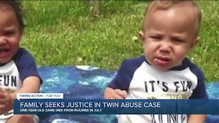 'Justice means charging the monster that did these crimes,' says family of abused twins