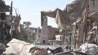 US-Backed Forces Occupy Landmark Clock Tower in Raqqa - Video