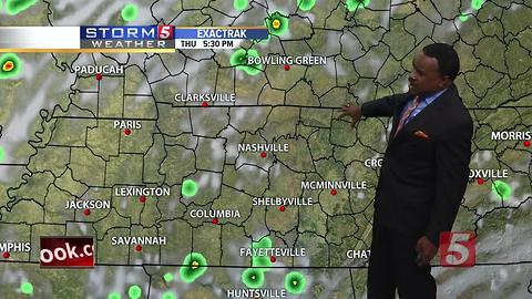 Lelan's Morning Forecast: Thursday, August 3, 2017