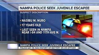 Nampa Police search for teen with 'violent tendencies' who escaped juvenile corrections facility