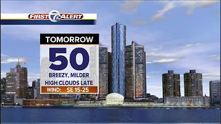 Milder Monday and rain Tuesday - Video