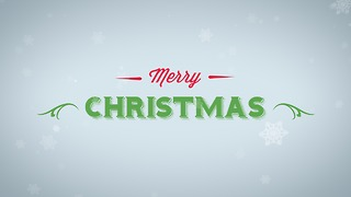 Merry Christmas Greeting Card #4