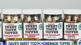 Dave's Sweet Tooth toffee - Video