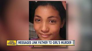 Janessa Shannon Murder: Messages link father to girl's murder - Video