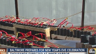 Added security in place for Baltimore's New Year's Eve fireworks show - Video