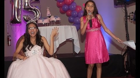 11-Year-Old Expertly Roasts Older Sister at Birthday Party