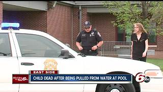 7-year-old boy dies after being pulled from a city pool - Video