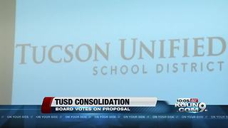 TUSD board voting on school switch - Video