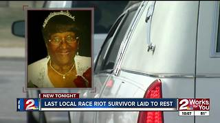Last Race Riot Survivor Hazel Jones takes last trip through Greenwood - Video