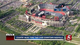 CMA Music Festival Gets Underway In Nashville - Video