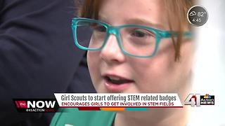 Local Girl Scouts excited for new STEM badges - Video