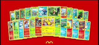 McDonalds can't keep up with limited edition Pokémon Cards in Happy Meals