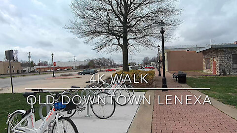 4K Walk Old Downtown Lenexa